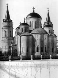 Спасо-Преображенский собор в Чернигове, 1036 г.