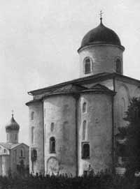 Николо-Дворищенский собор в Новгороде, 1113 г.