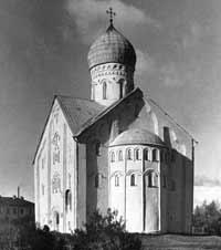 Церковь Спаса Преображения на Ильине в Новгороде, 1374 г.